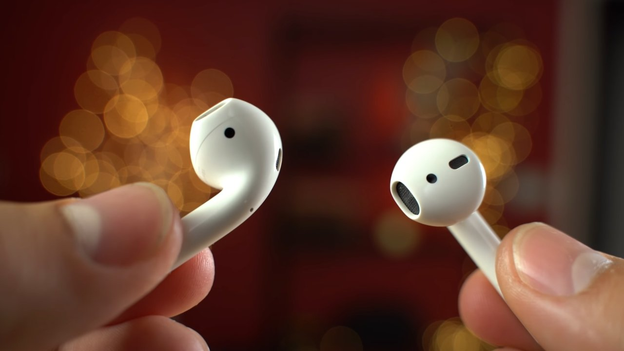 The AirPods are totally wireless earbuds