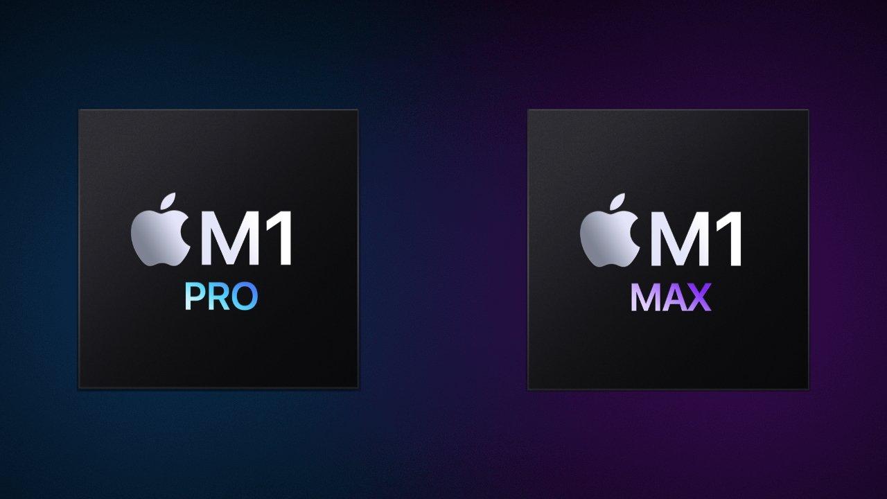 The M1 Pro and M1 Max are Apple's pro-grade processors
