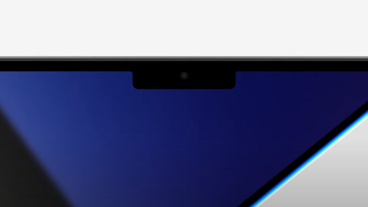 The notch exists as a compromise for more display area