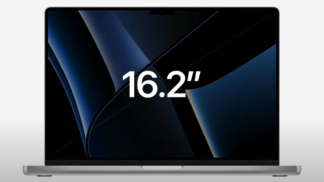 The 16-inch MacBook Pro has a slightly bigger display thanks to reduced bezels