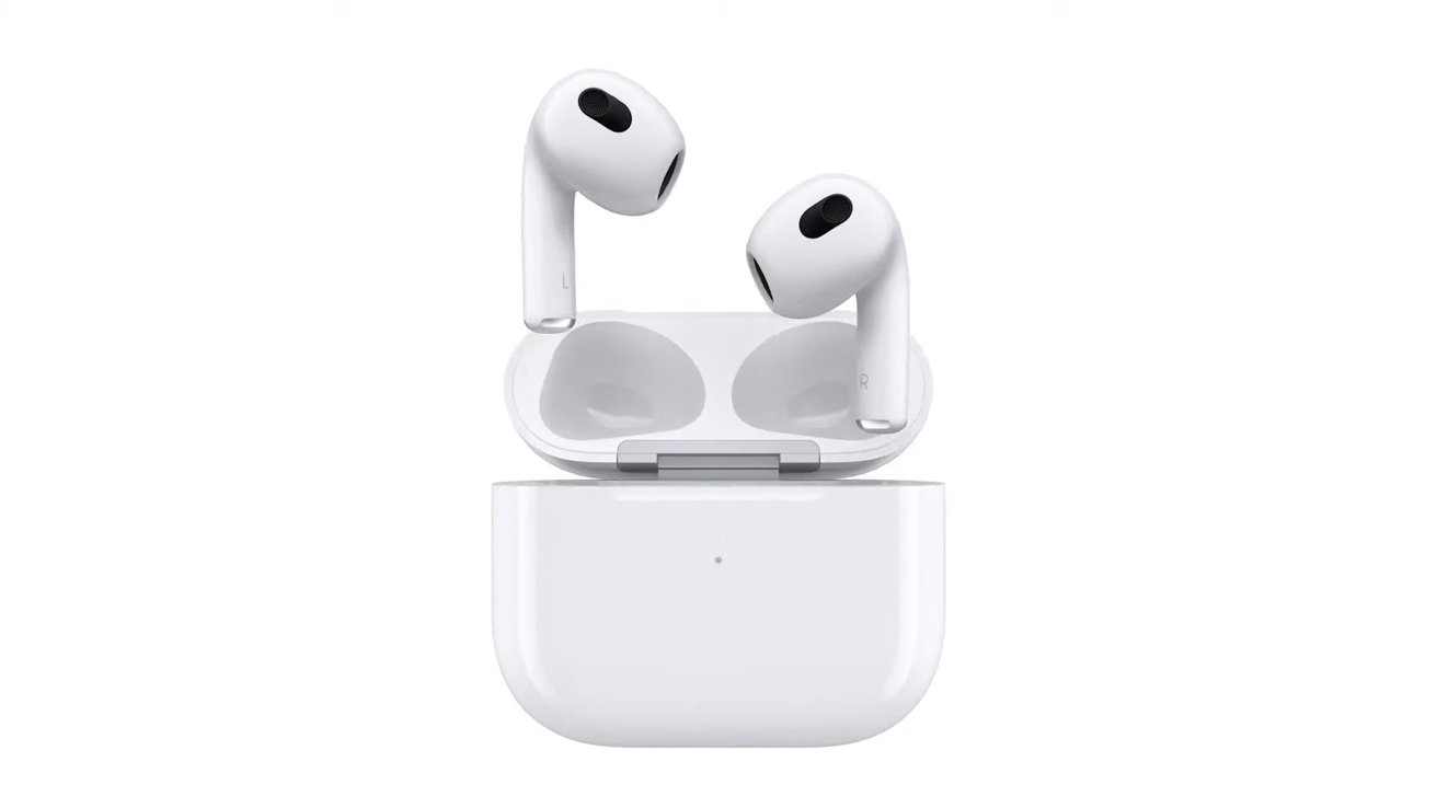 The third-generation AirPods take on the AirPods Pro design