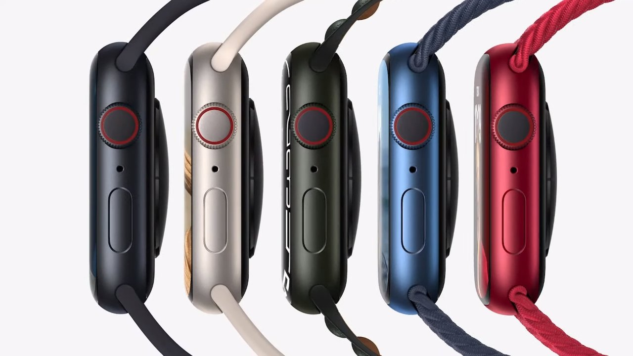 Apple Watch Series 7 has more rounded corners, bigger display