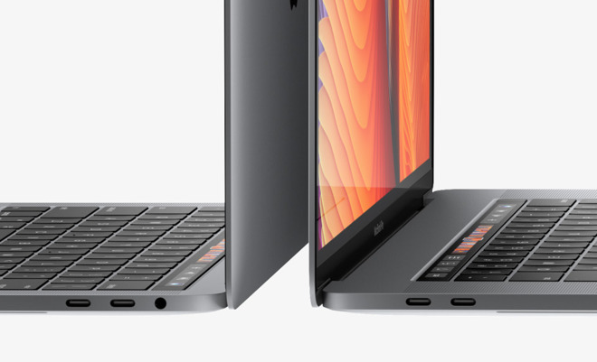 how to get contacts from iphone two of four thunderbolt 3 ports in new 13 quot macbook pro 18834