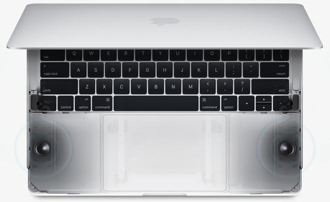 Apple's new MacBook Pros boast 58% louder built-in speakers