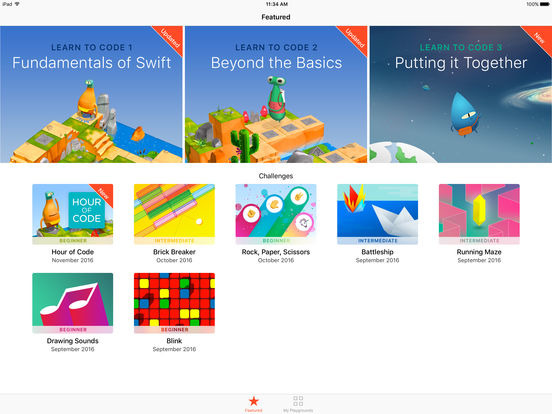 low priced 35a09 3bb37 Apple updates Swift Playgrounds for iPad with new Learn to ...