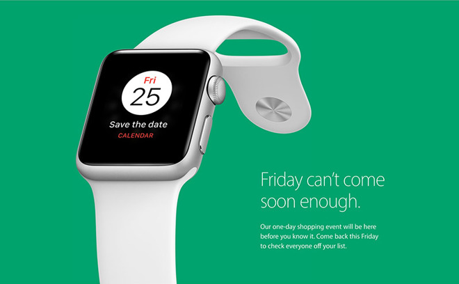 Black Friday Sales >> Apple To Hold One Day Black Friday Sales Event After Skipping 2015
