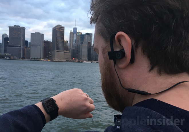 79315b52e40 Priced at $199.95, the Powerbeats3 Wireless are one of the more expensive  pairs of activity-focused headphones on the market. The external design is  largely ...