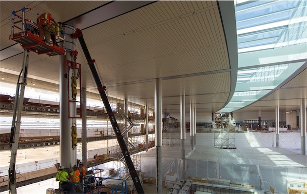 Apple gives employees a closer look at finishing touches for Intranet interior