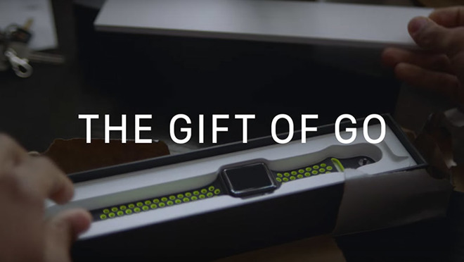 Apple makes case for Apple Watch Series 2 Christmas gifts in new ad ...