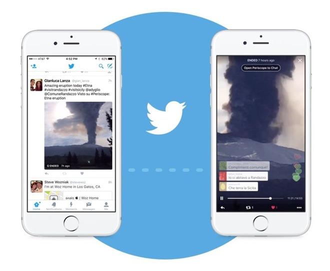 Twitter iOS app integrates Periscope-based live video