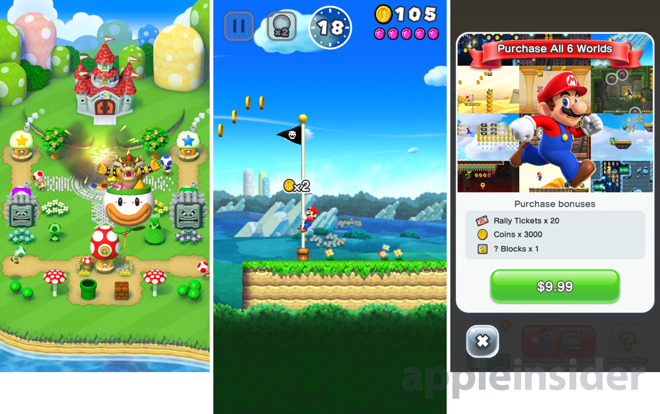 super mario game app