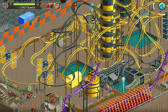 RollerCoaster Tycoon Classic brings first two PC games to iOS