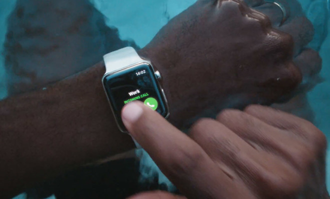 low priced b94ad 09f45 Apple debuts new Apple Watch mini-ad focusing on waterproof chassis