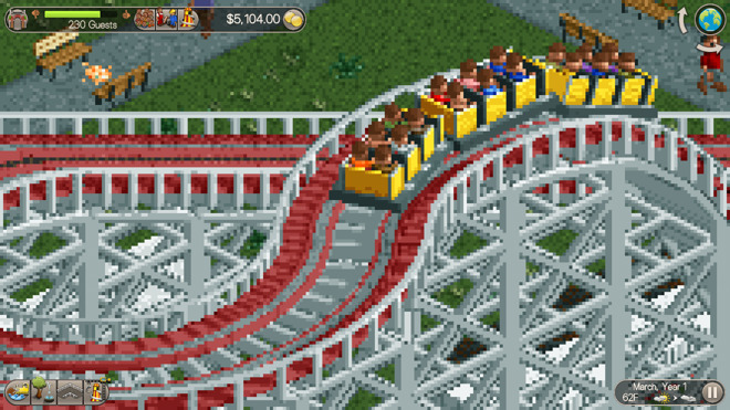 Review: 'RollerCoaster Tycoon Classic' for iOS is faithful