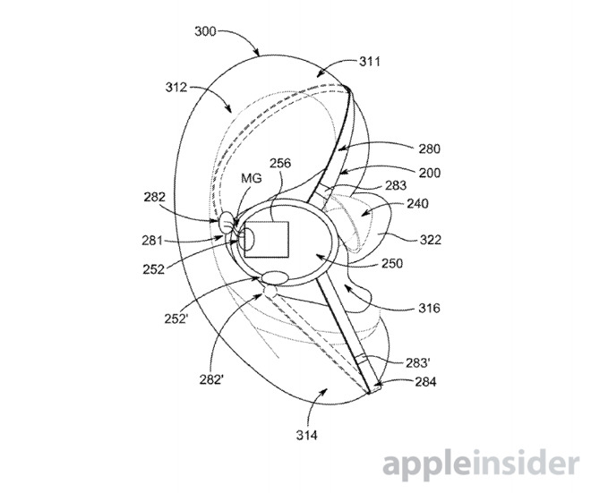 Apple Filing Shows Initial Stab At Airpods With Magnetic Hooks