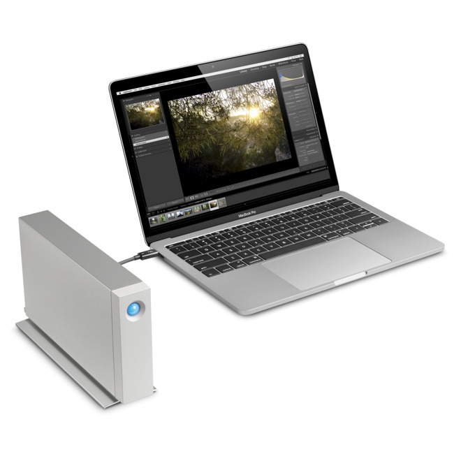 Lacie Teams With Seagate For New Macbook Pro Compatible