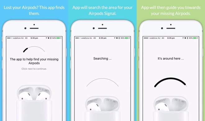 quality design b6eb8 481eb Apple pulls app for finding lost AirPods from App Store