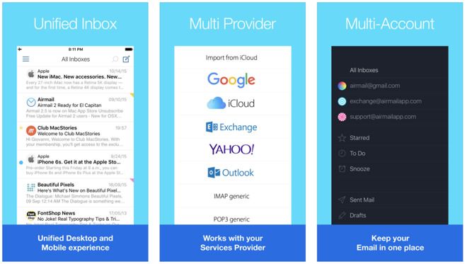 Hands on with Airmail 1 5, managing Apple Mail, Gmail, and