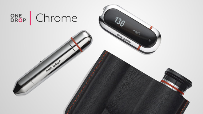 One Drop launches Chrome Blood Glucose Monitoring with HealthKit on