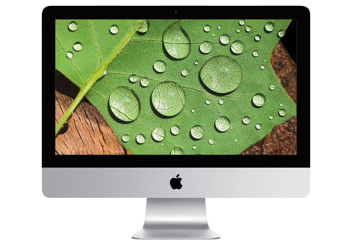 21 inch iMac 4K desktop