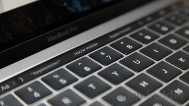 North Carolina Requires Test Takers Disable Macbook Pro Touch Bar For Bar Exam U Appleinsider