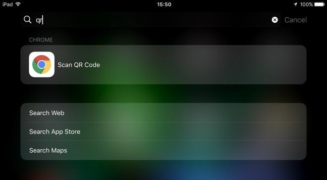 qr code mit iphone scannen