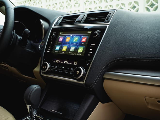 Subaru adds Apple CarPlay support to upcoming 2018 Legacy