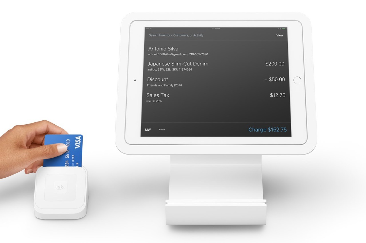 Square Launches Ipad App With Point Of Sale Store