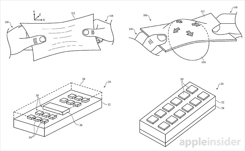 Apple Invents Stretchable Display Backed By Mesh Like