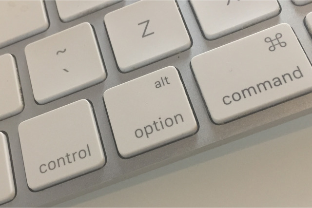 Exploit hidden macOS and app features with the Option key