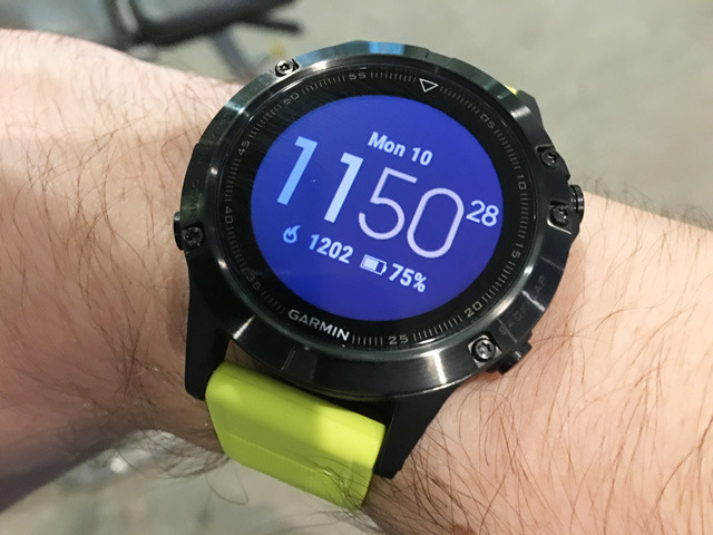 Review Garmin S Fenix 5 Smartwatch Aims At Athletes Not Apple