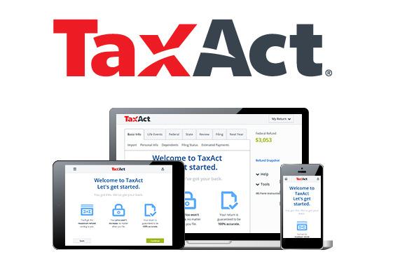 TaxAct tax prep software
