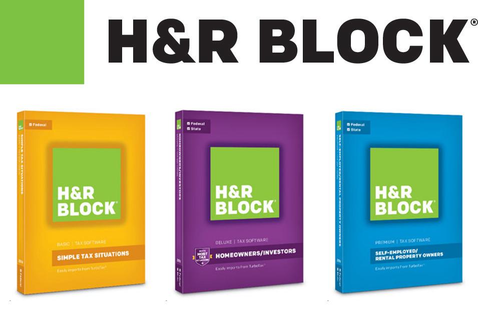 HR Block tax software