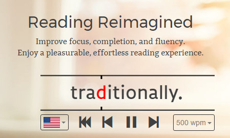 Learn how to read faster with Spritz on the iPhone and iPad