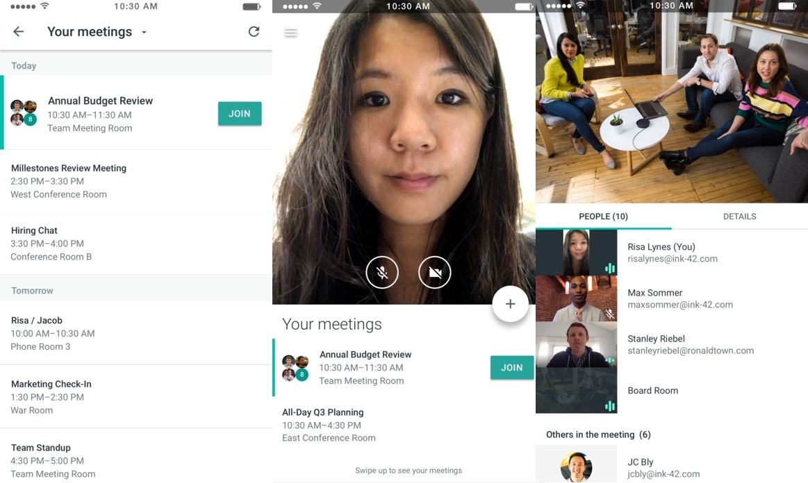 Google Meet Video Conferencing App Goes Live On Ios Pulled From