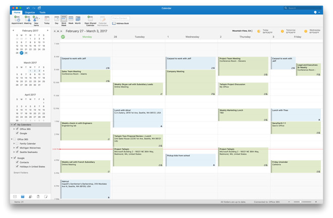 Microsoft adds Google Calendar & Contacts support to Outlook