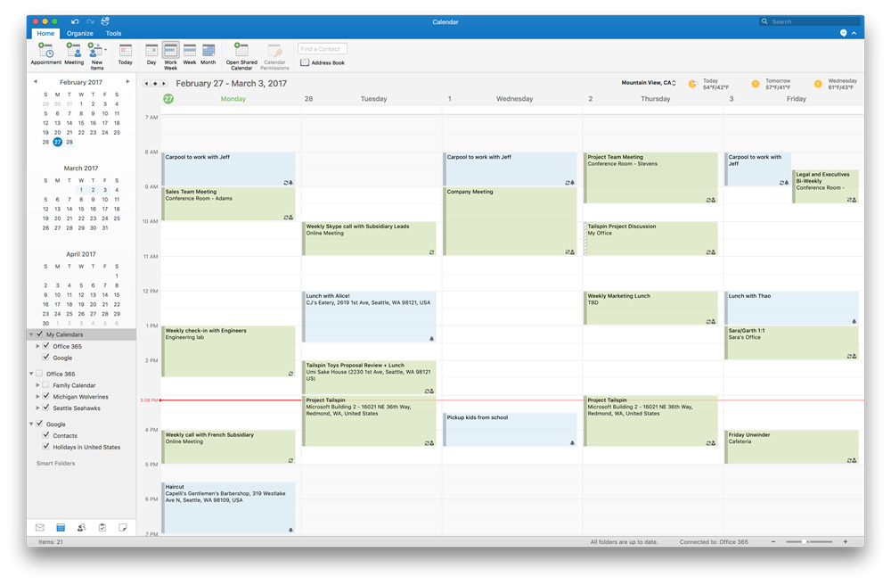Microsoft Adds Google Calendar Amp Contacts Support To