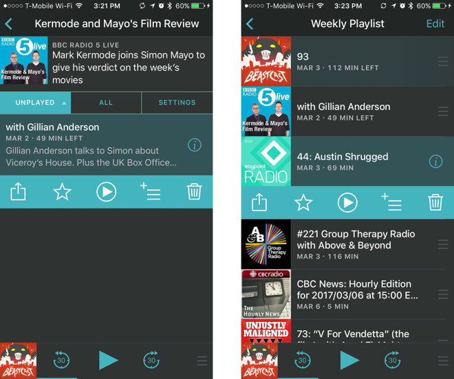 how to play podcasts on iphone how to add and play podcasts using overcast for the iphone 6534
