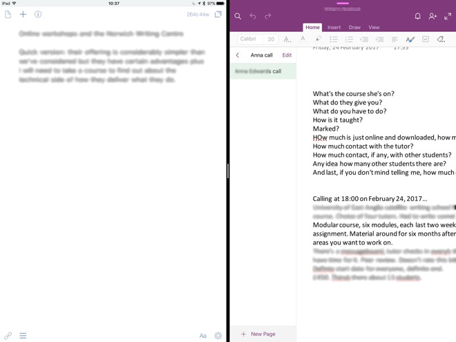 Hands On: Microsoft OneNote is powerful, but needs Office to