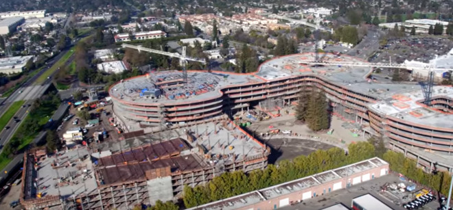 Apple Park HQ buttressed by Central & Wolfe 'AC3' campus in