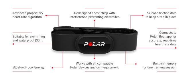heart rate monitor iphone polar h10 bluetooth rate sensor offers enhanced 14260