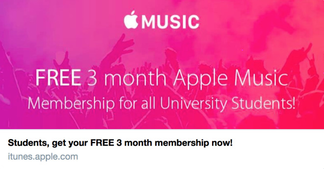 Apple Music ambassador program offers Twitter promoters 3 free