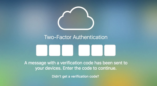 How to implement Apple's two-factor authentication for