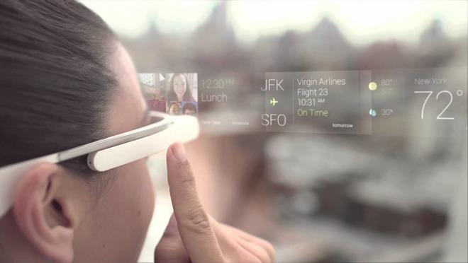 Google's early effort at AR-like technology, Google Glass.