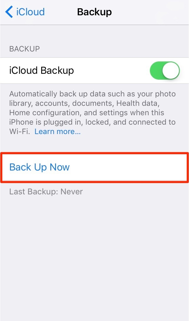 how to put icloud photos back on iphone