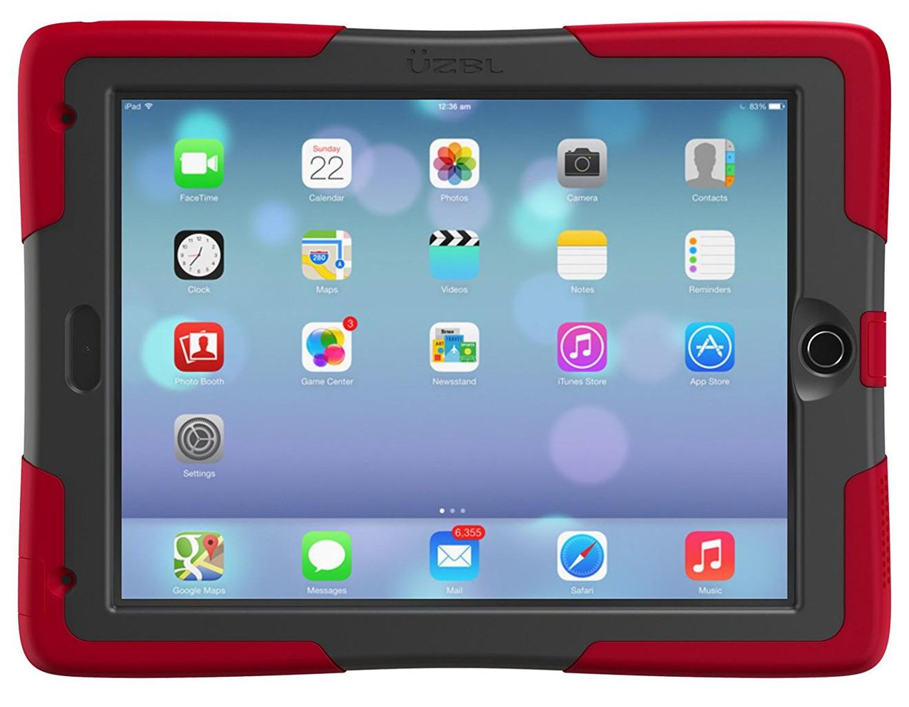UZBL ShockWave 2017 iPad Case