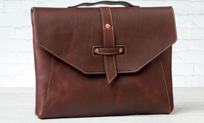 Pad And Quill Valet Luxury Laptop Bag For Macbook Pro