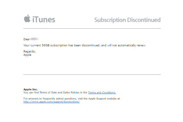 Apple Music & iCloud users receive unexpected subscription