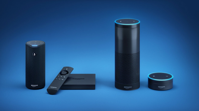 Amazon's main lineup of Alexa-enabled devices.