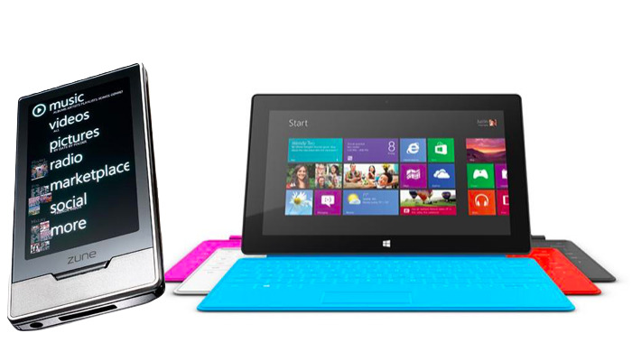 Zune, Surface RT
